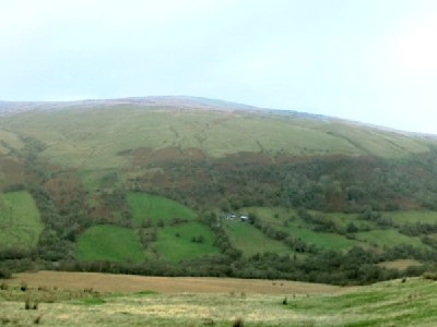 Fan Bwlch Chwyth Viewed From South