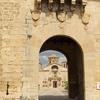 Spain Poblet Monastry Entrance