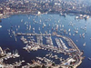 The City Port In Split
