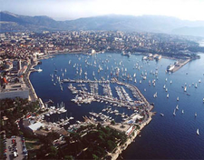 The City Port In Split