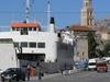 Ferry Dock In The Port Of Split