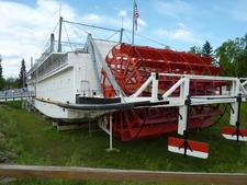 SS Nenana Sternwheeler In Pioneer Park