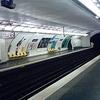 Line 7 Platforms At Poissonniere