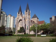 St Johns Cathedral West Front From The Liturgical Southeast