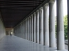 Inside The Stoa Of Attalos