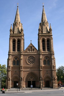 The Cathedrals Frontage