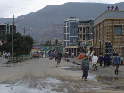 Street In Adigrat