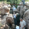 Excavation At Motsetse Cave