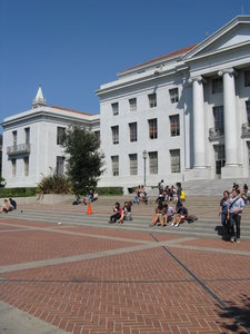 Steps Of Sproul Hall