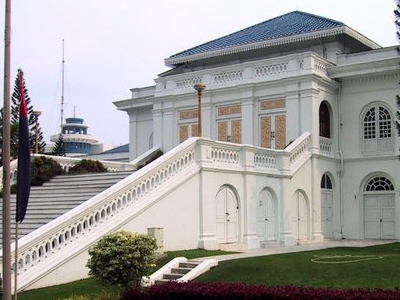 Sultan's Palace In Johor Bahru