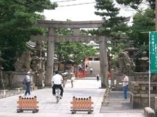 Proper Entrance To Sumiyoshi Taisha