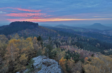 Sunset In Saxon Switzerland
