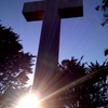 Sunset Mt Davidson Cross