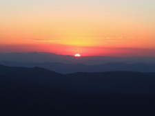 Sunset Over The Alps From Mount Hotham
