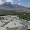 Suru River At Kargil Town