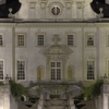 Swan House At Night