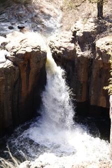 Sycamore Falls Head Of Sycamore Canyon