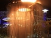 Olympic Cauldron Converted Into A Water Fountain