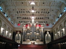 The Centennial Hall With The Grand Organ