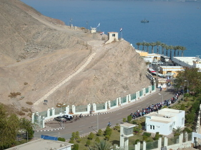 Taba Border Crossing     Egyptian Side