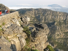 Table Mountain Viewing Platform - Cape Town SA