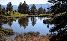 Taggart Lake & Beaver Creek Views - Grand Tetons - Wyoming - USA