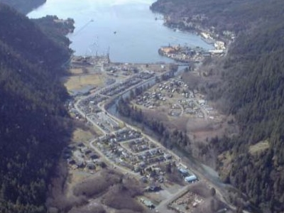 Tahsis Inlet And Village