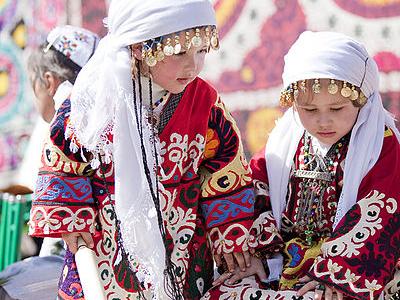 Tajikistani Kids