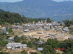 Tamenglong-Arerial View