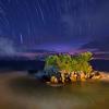 Tanah Lot With Night Sky