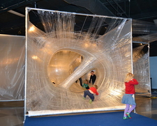 Tape_Scape_by_Eric_Lennartson_at_children's_discovery_museum_in_San_Jose
