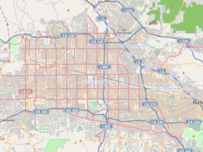 Tarzana Is Located In San Fernando Valley