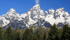 Teepe Pillar - Grand Tetons - Wyoming - USA