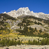 Teewinot Mountain - Grand Tetons - Wyoming - USA