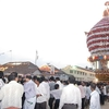 Temple Car During Festival, Polali