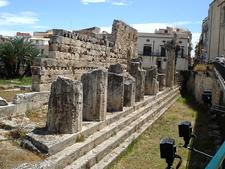 Temple Of Apollo At Syracuse - Sicily - Italy