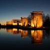 Temple Of Debod In Madrid