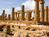 Temple Of Juno Lacinia At Agrigento - Sicily - Italy