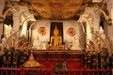 Temple Of The Sacred Tooth Relic Inside View