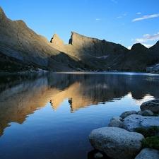 Temple Peak Reflecting