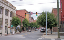 Temple Street In Downtown Hinton