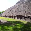 Tenayuca Pyramid Base - Valley Of Mexico - Mexico