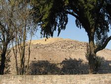 Tenayuca Pyramid Ruins - Valley Of Mexico - Mexico
