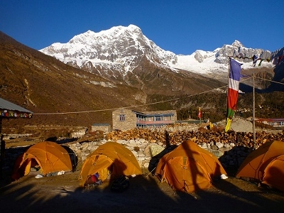 Tent Camp - Nepal Annapurna