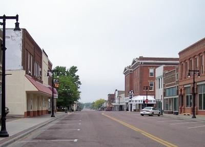 Tenth Street In Downtown Worthington