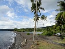 Ternate Island Black Beach - Maluku Islands