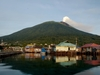 Ternate Volcano View From Dodoku Ali