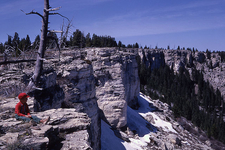 Terrace Mountain - Yellowstone - USA