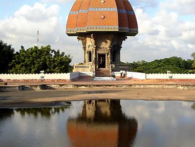 Terrace View Of Valluvar Kottam
