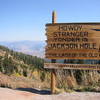 Teton Pass Signboard